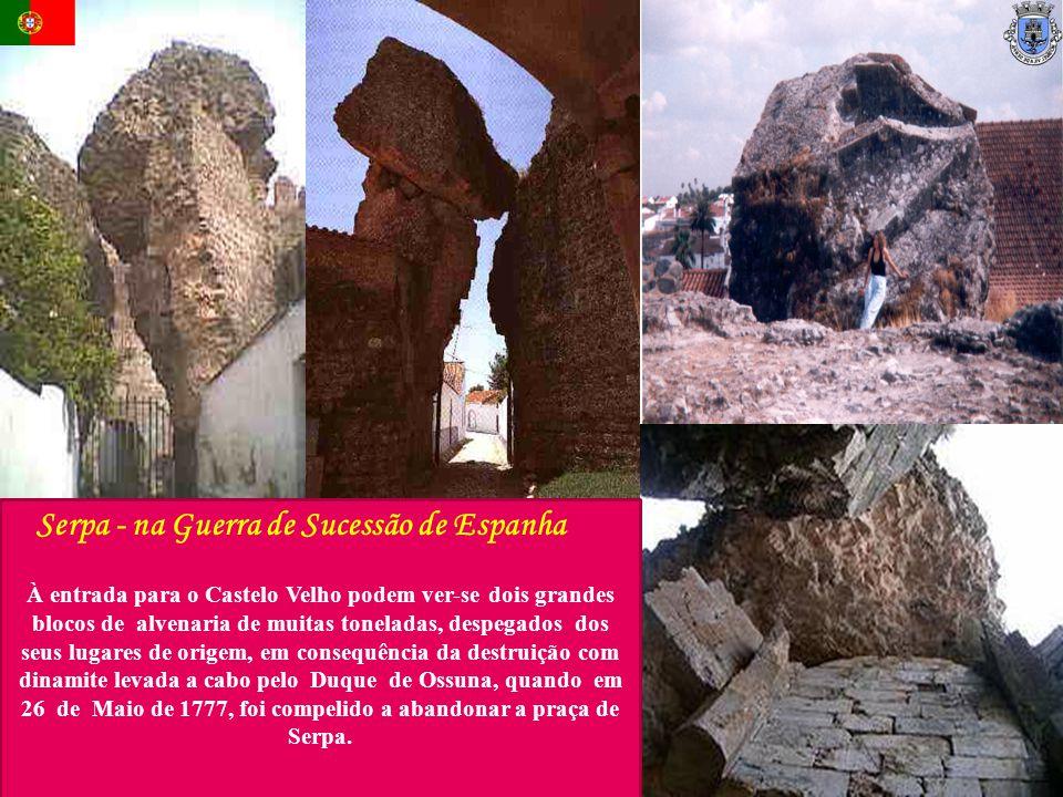 Serpa - na Guerra de Sucessão de Espanha