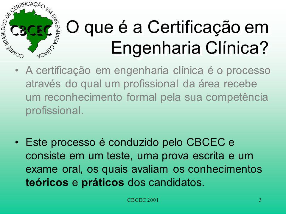 O que é a Certificação em Engenharia Clínica