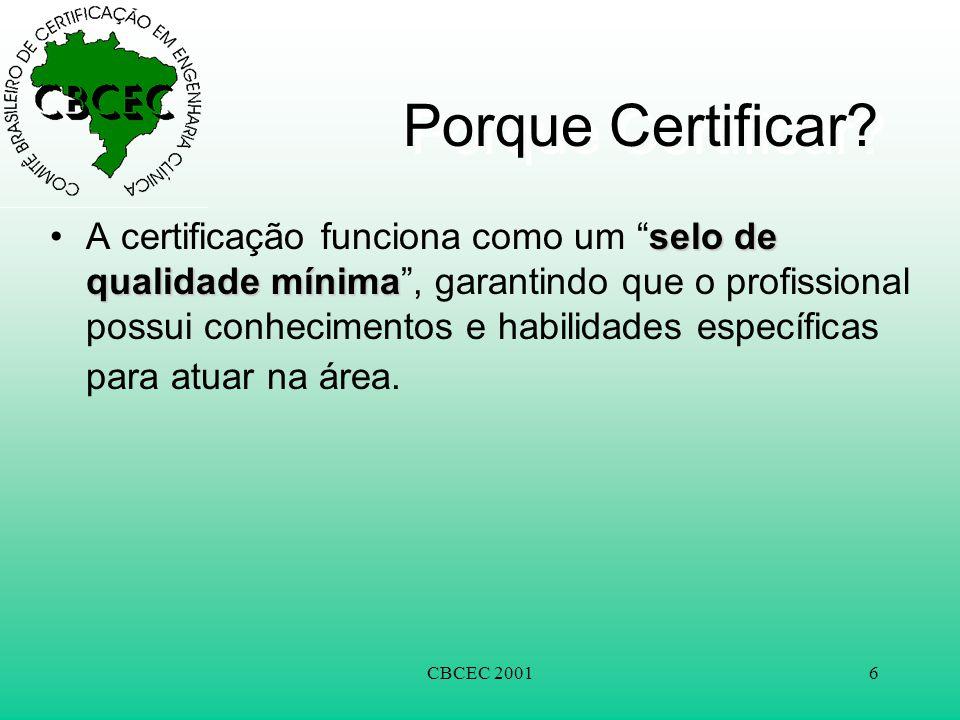 Porque Certificar