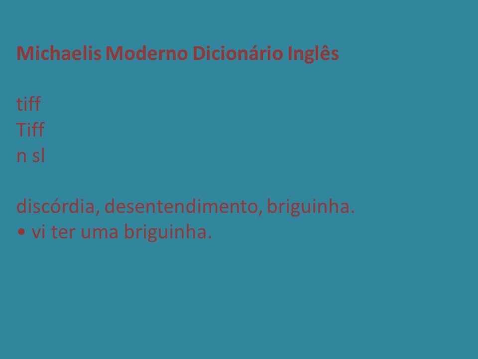 Michaelis Moderno Dicionário Inglês