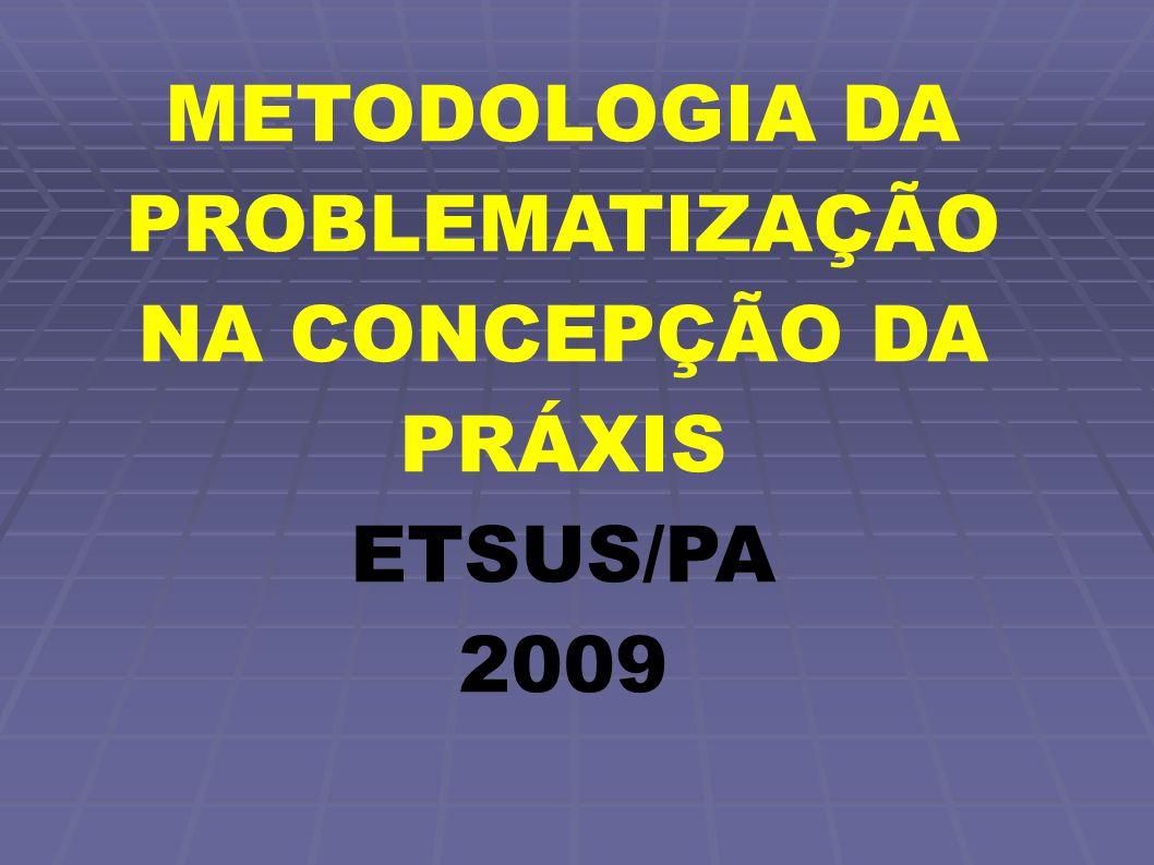 METODOLOGIA DA PROBLEMATIZAÇÃO NA CONCEPÇÃO DA PRÁXIS