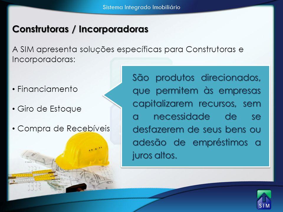 Construtoras / Incorporadoras