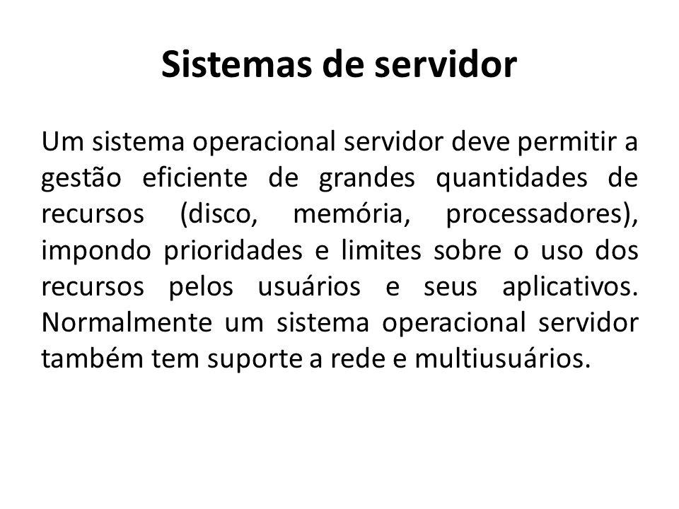 Sistemas de servidor
