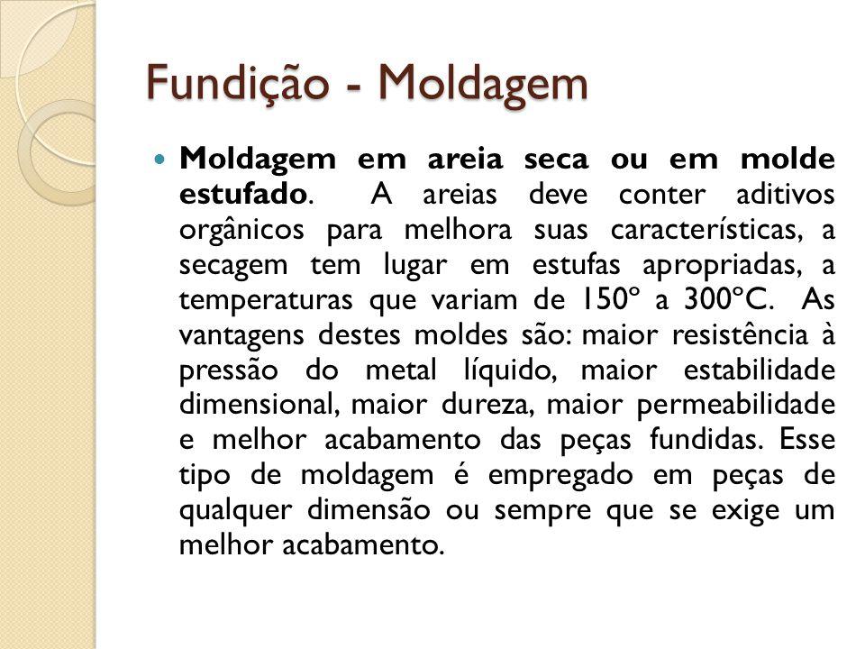 Fundição - Moldagem