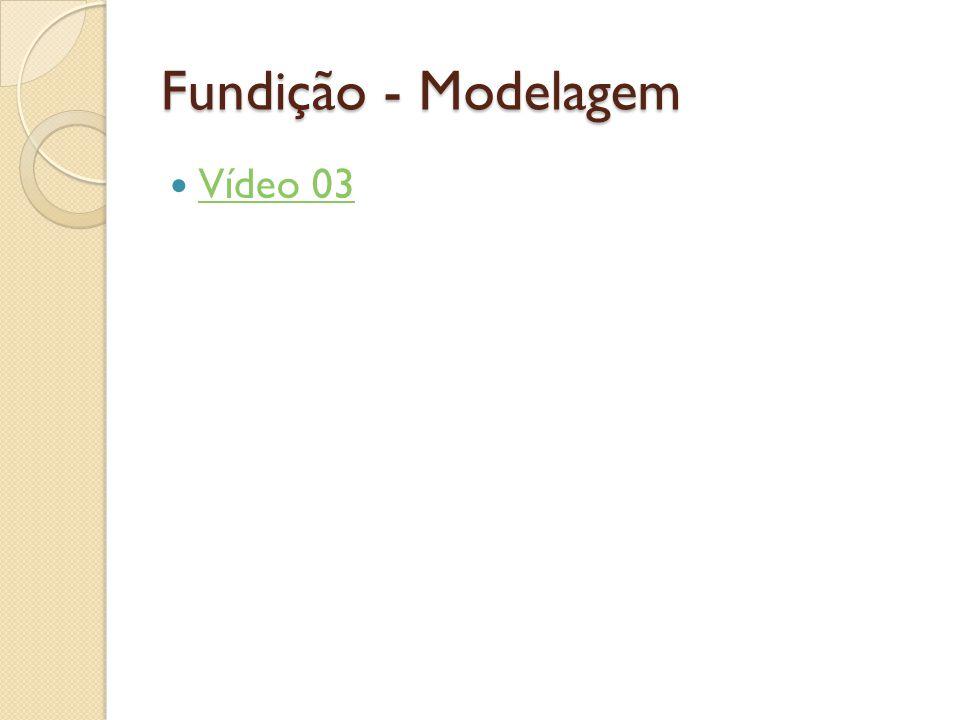 Fundição - Modelagem Vídeo 03