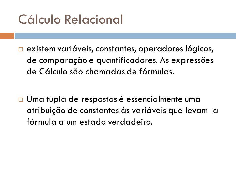 Cálculo Relacional