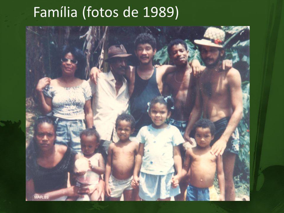 Família (fotos de 1989)