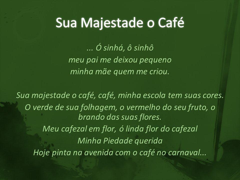Sua Majestade o Café