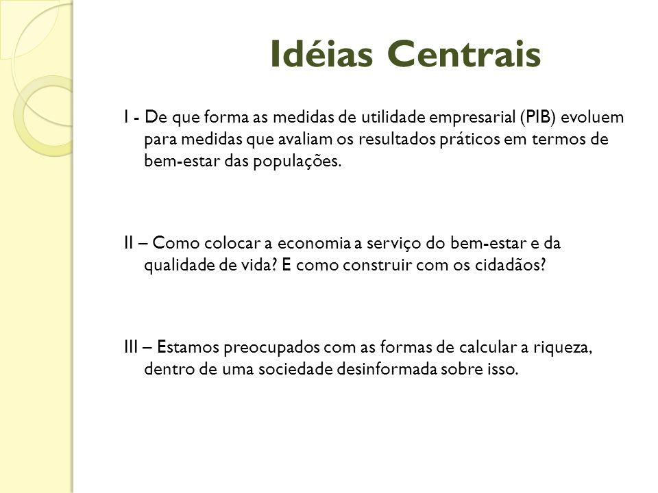 Idéias Centrais
