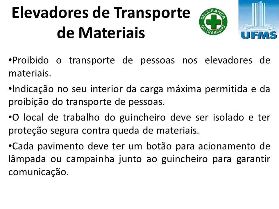 Elevadores de Transporte de Materiais