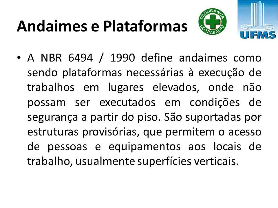 Andaimes e Plataformas