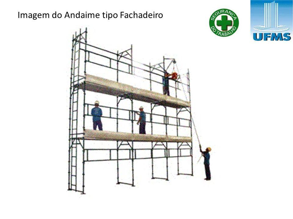 Imagem do Andaime tipo Fachadeiro