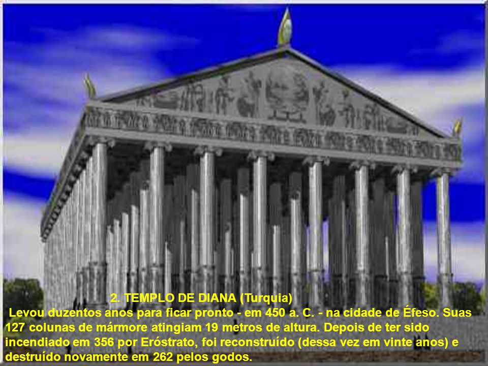 2. TEMPLO DE DIANA (Turquia)