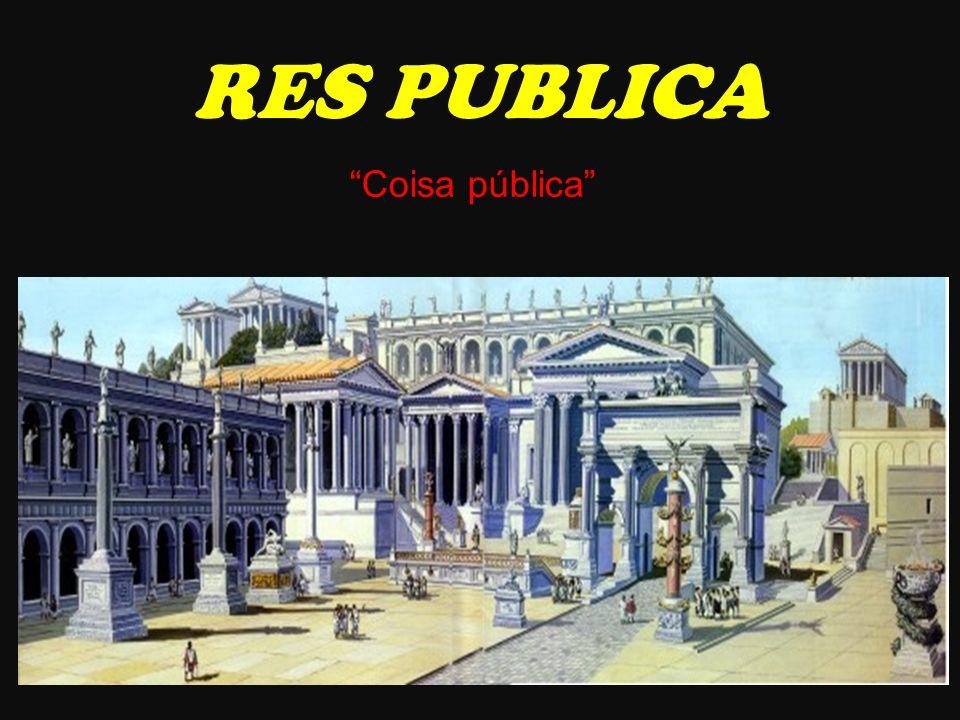 RES PUBLICA Coisa pública