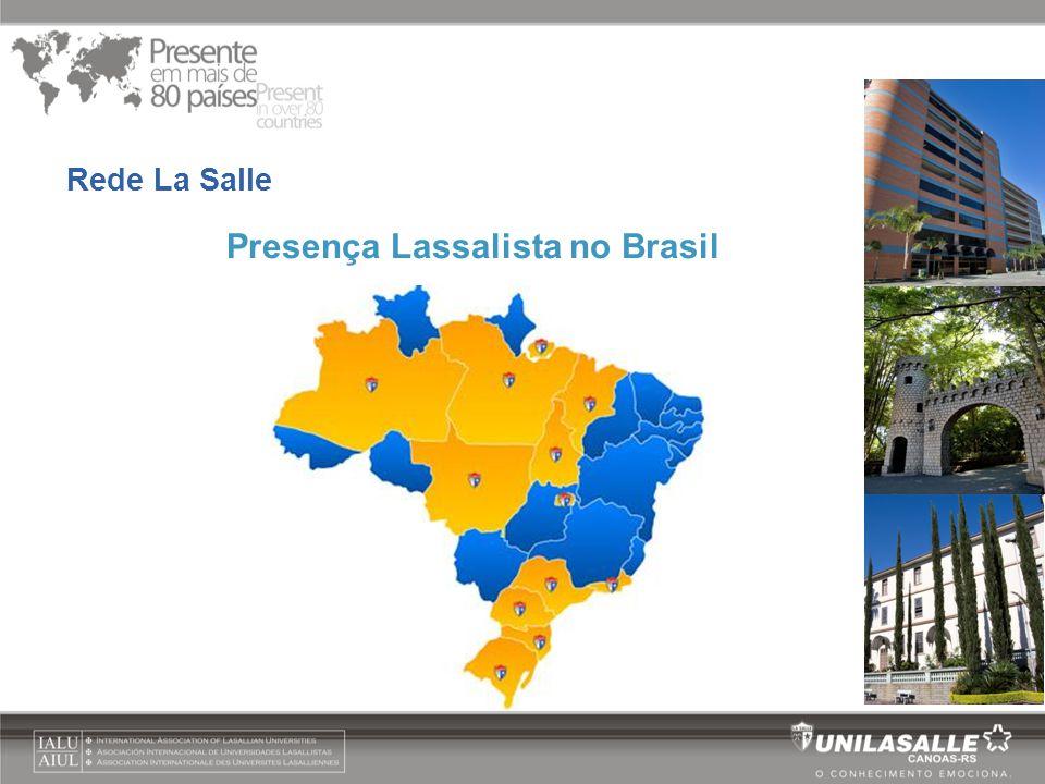 Presença Lassalista no Brasil
