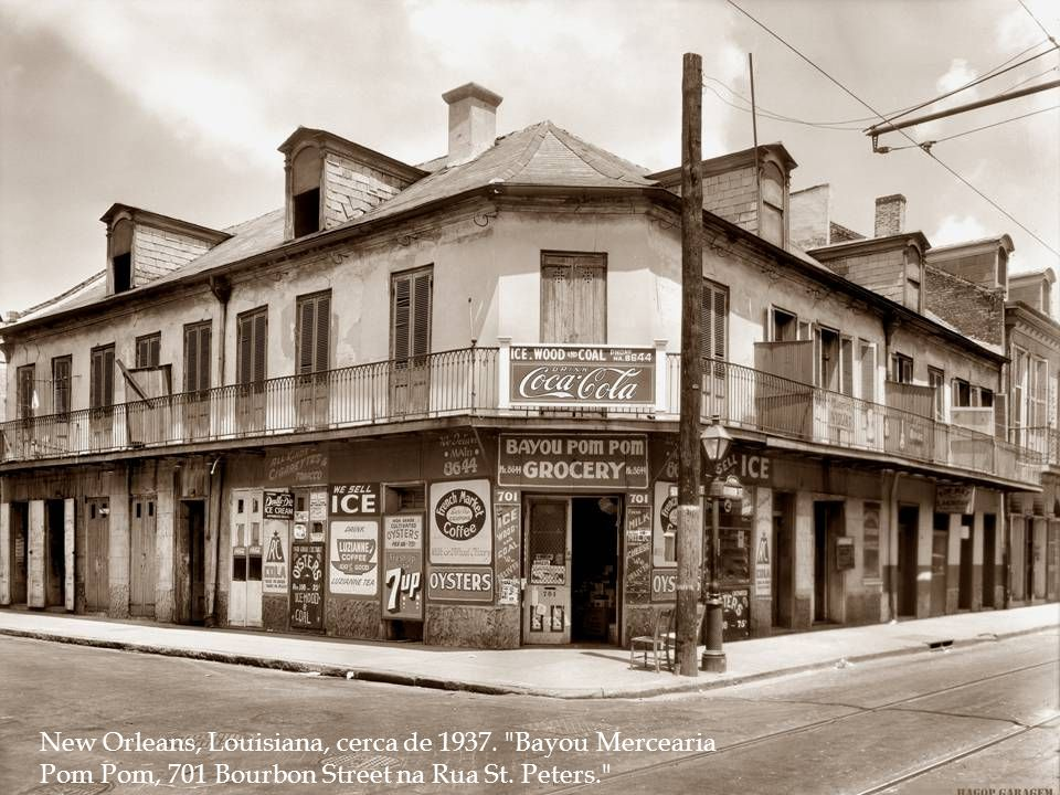 New Orleans, Louisiana, cerca de 1937