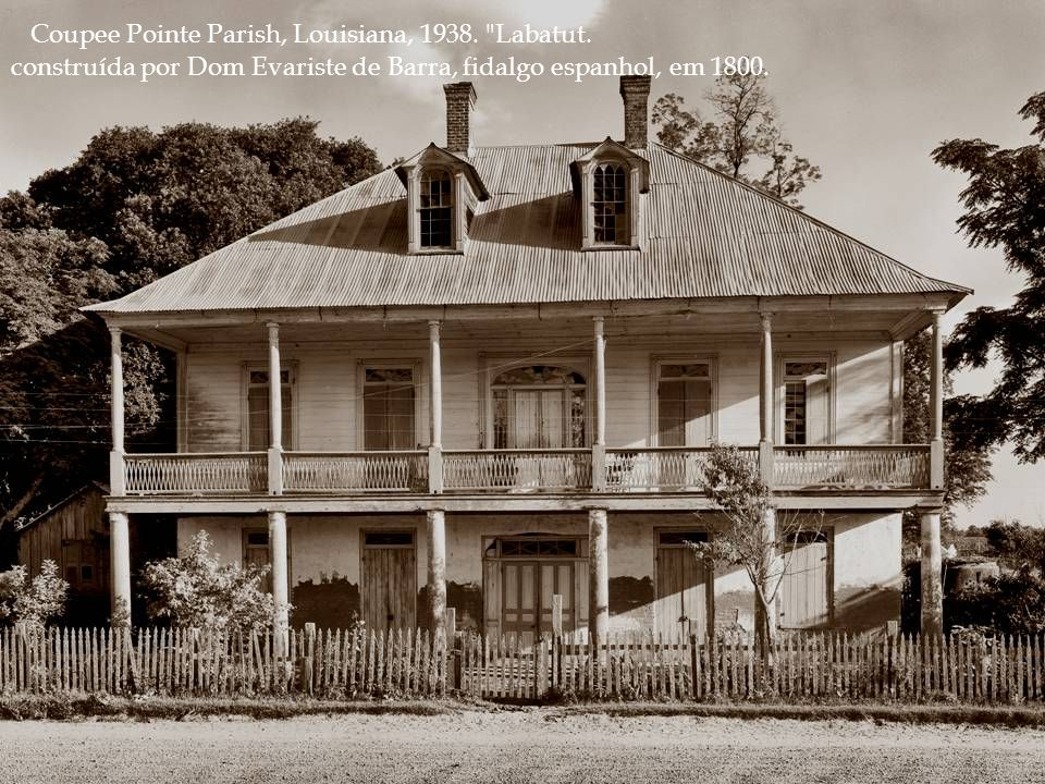 Coupee Pointe Parish, Louisiana, 1938. Labatut.