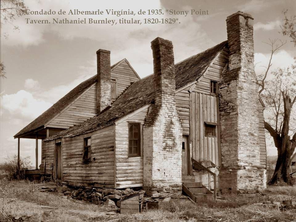 Condado de Albemarle Virgínia, de 1935. Stony Point Tavern