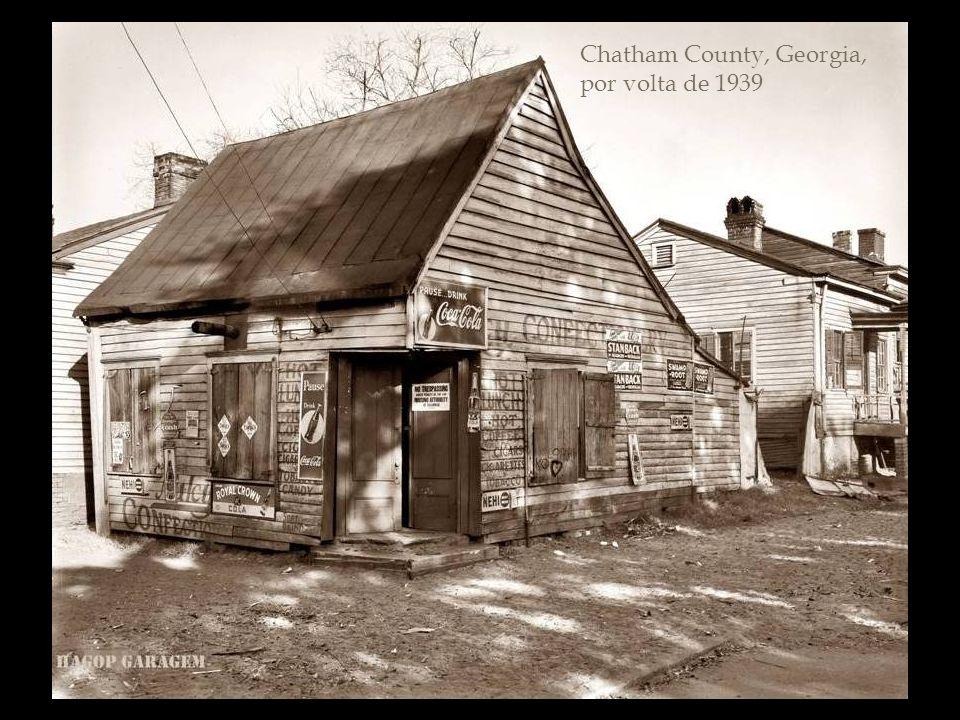 Chatham County, Georgia, por volta de 1939