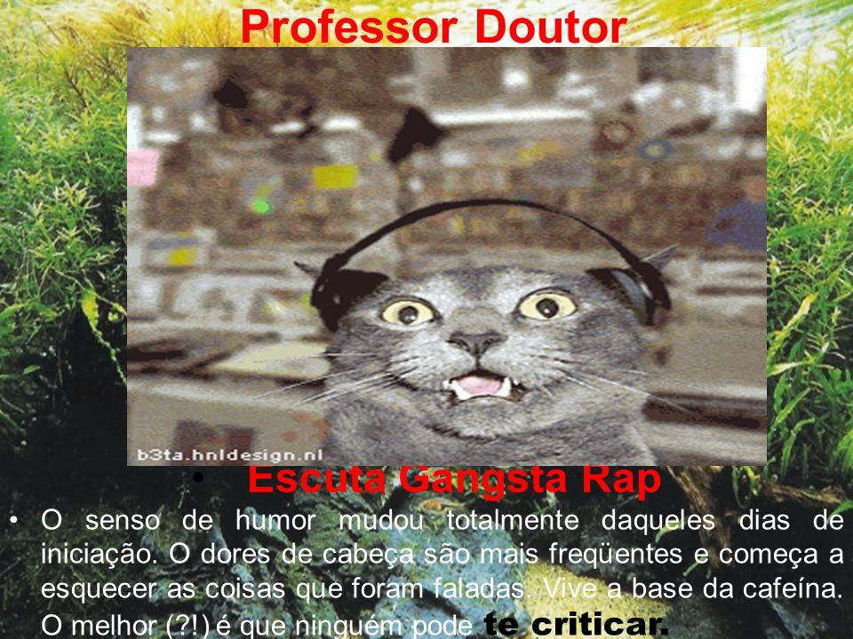 Professor Doutor Escuta Gangsta Rap