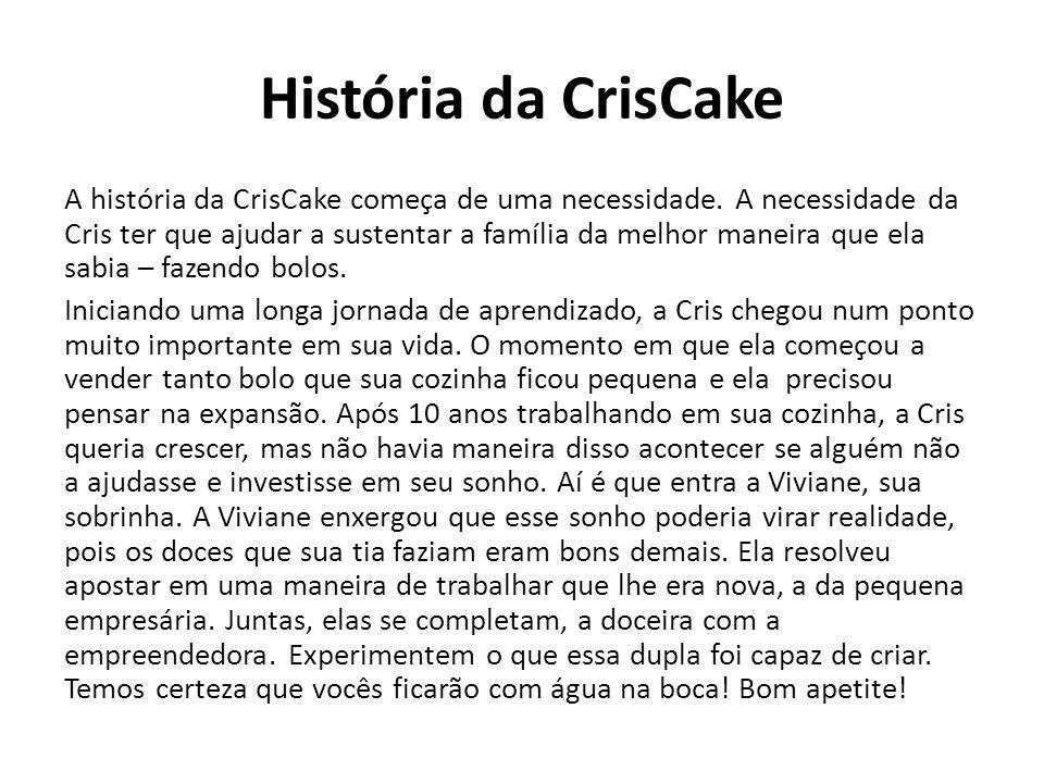 História da CrisCake