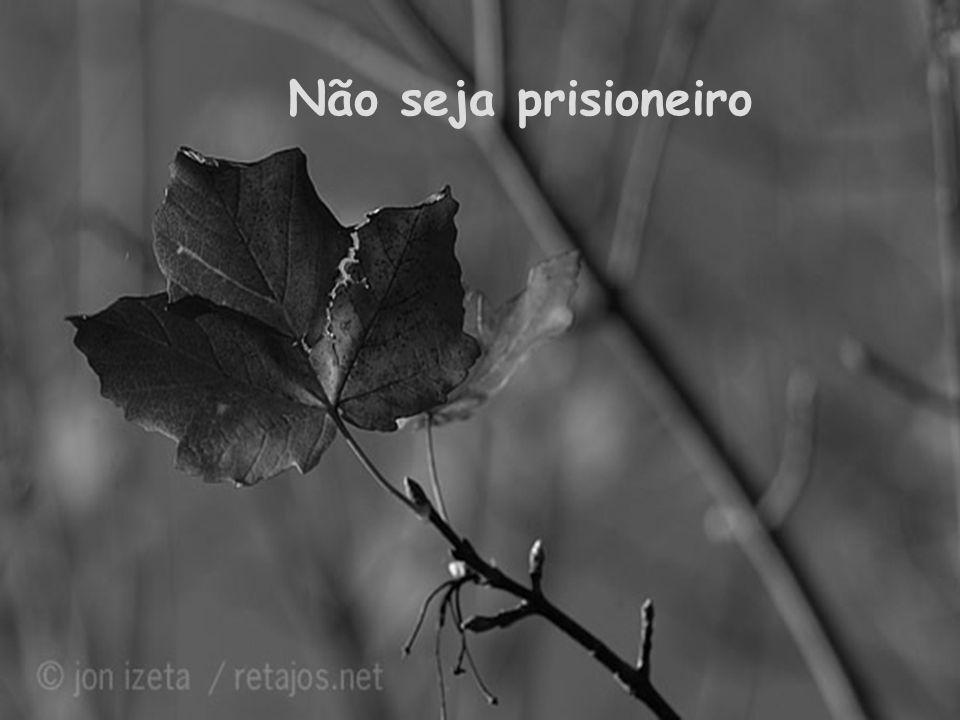Não seja prisioneiro