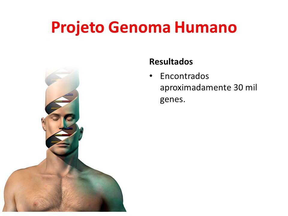 Projeto Genoma Humano Resultados