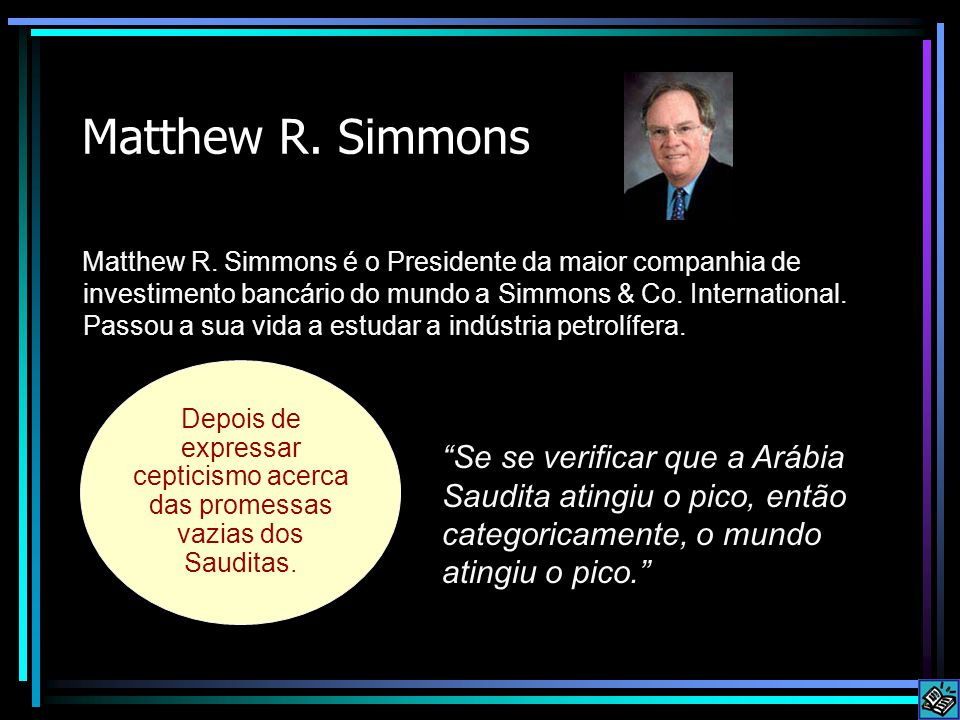 Matthew R. Simmons