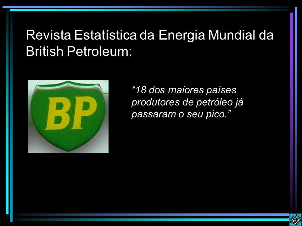 Revista Estatística da Energia Mundial da British Petroleum: