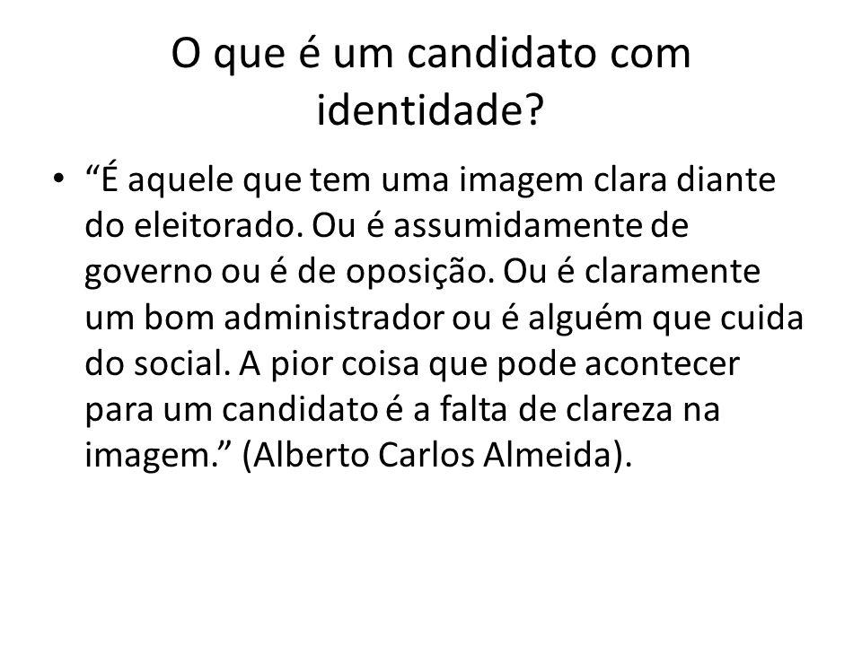 O que é um candidato com identidade