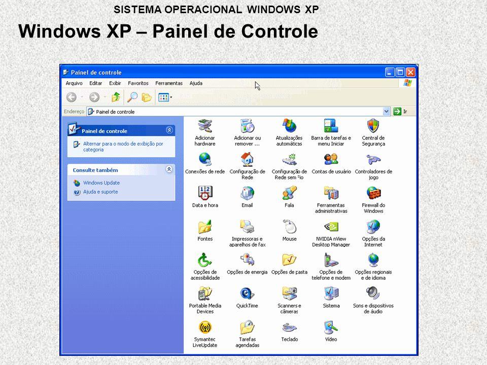 Windows XP – Painel de Controle