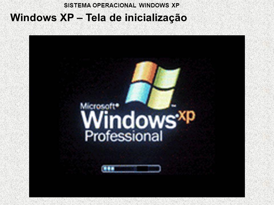 Windows XP – Tela de inicialização