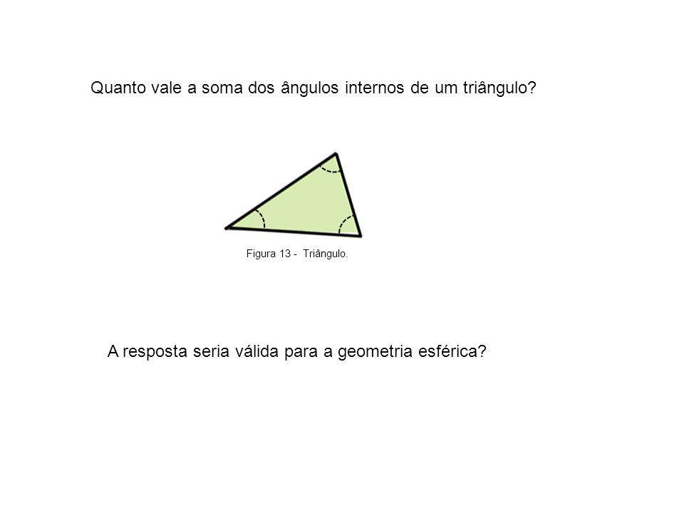 Quanto vale a soma dos ângulos internos de um triângulo