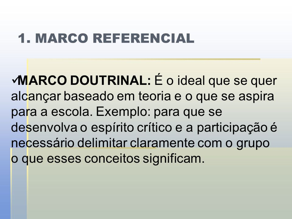 1. MARCO REFERENCIAL