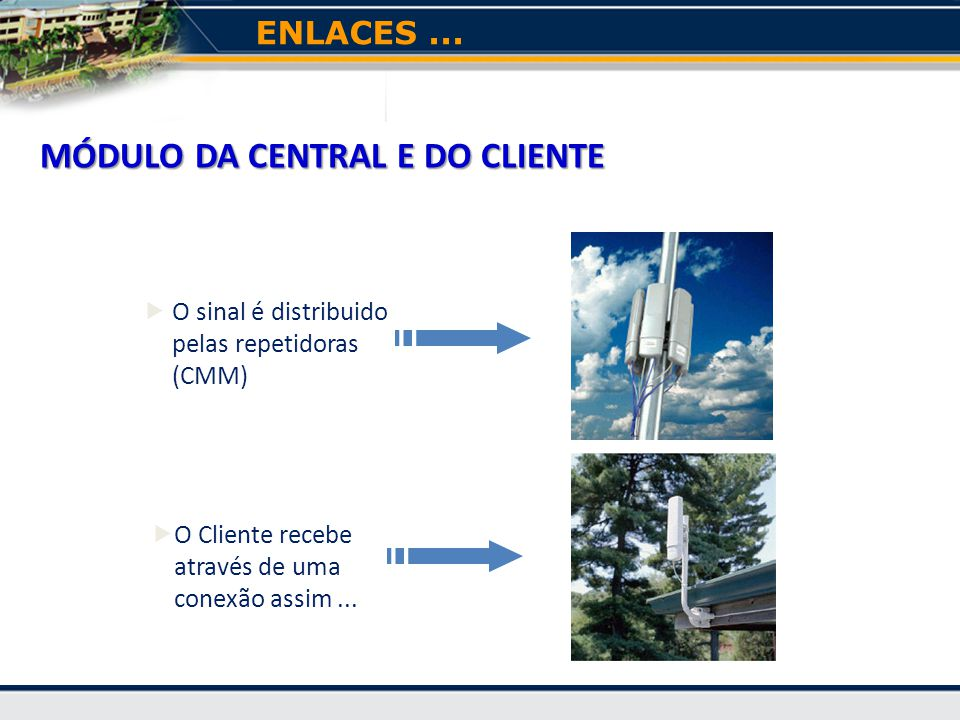 MÓDULO DA CENTRAL E DO CLIENTE