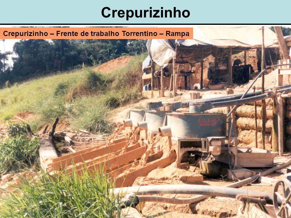 Crepurizinho Crepurizinho – Frente de trabalho Torrentino – Rampa