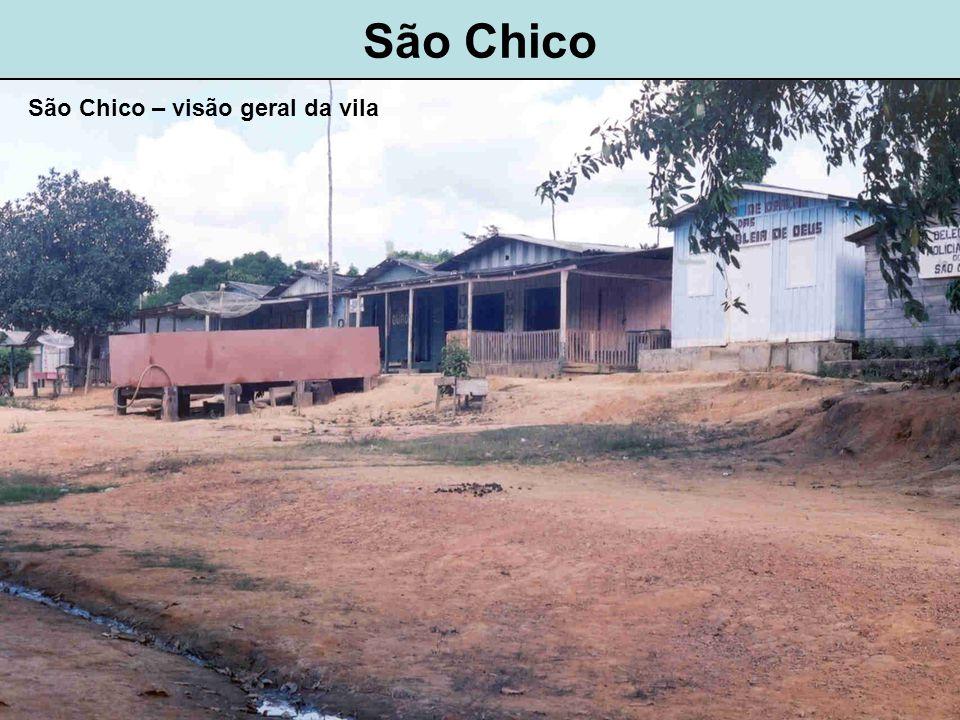 São Chico São Chico – visão geral da vila