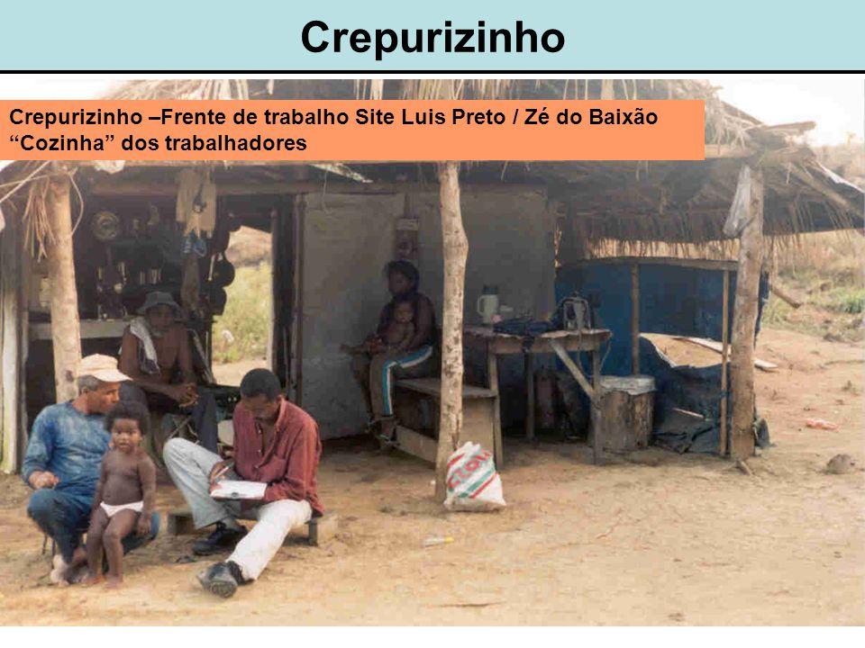 Crepurizinho Crepurizinho –Frente de trabalho Site Luis Preto / Zé do Baixão Cozinha dos trabalhadores.