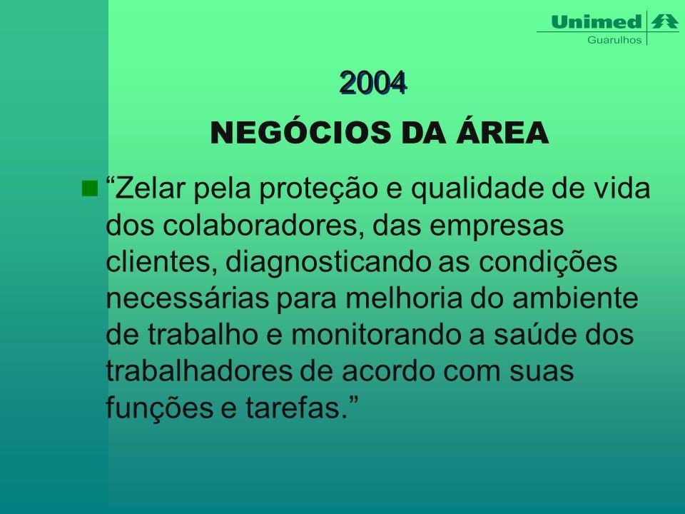 2004 NEGÓCIOS DA ÁREA.