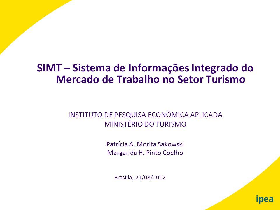 SIMT – Sistema de Informações Integrado do Mercado de Trabalho no Setor Turismo