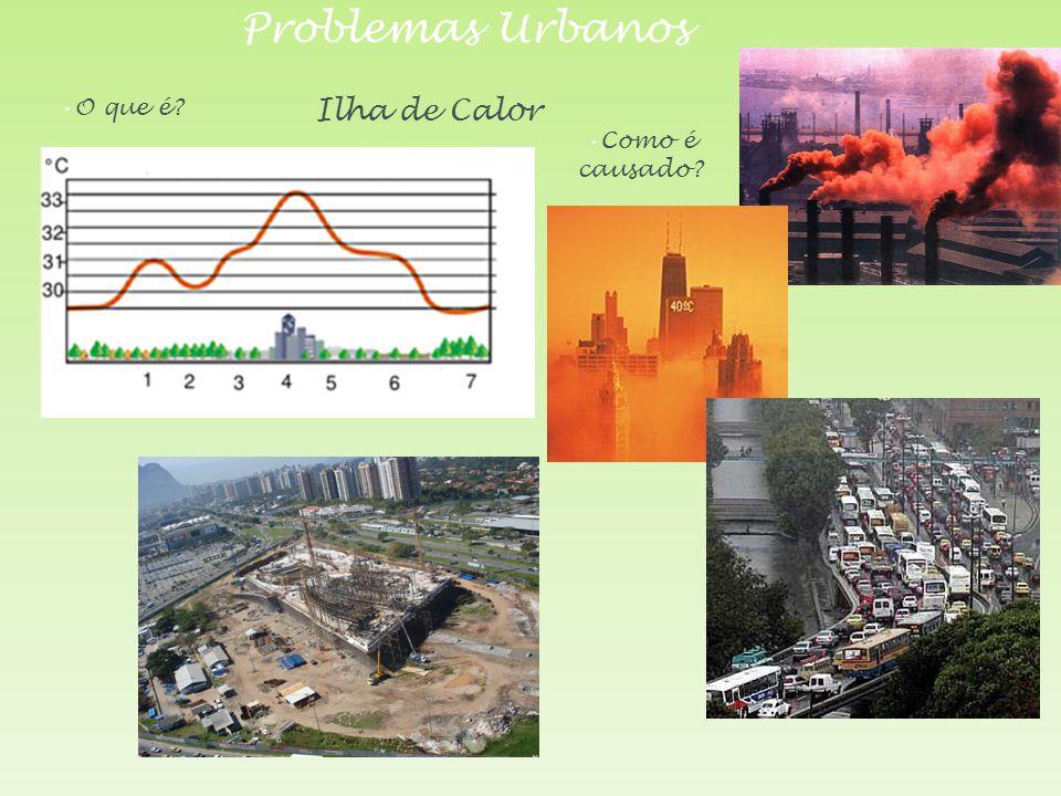 Problemas Urbanos O que é Ilha de Calor Como é causado