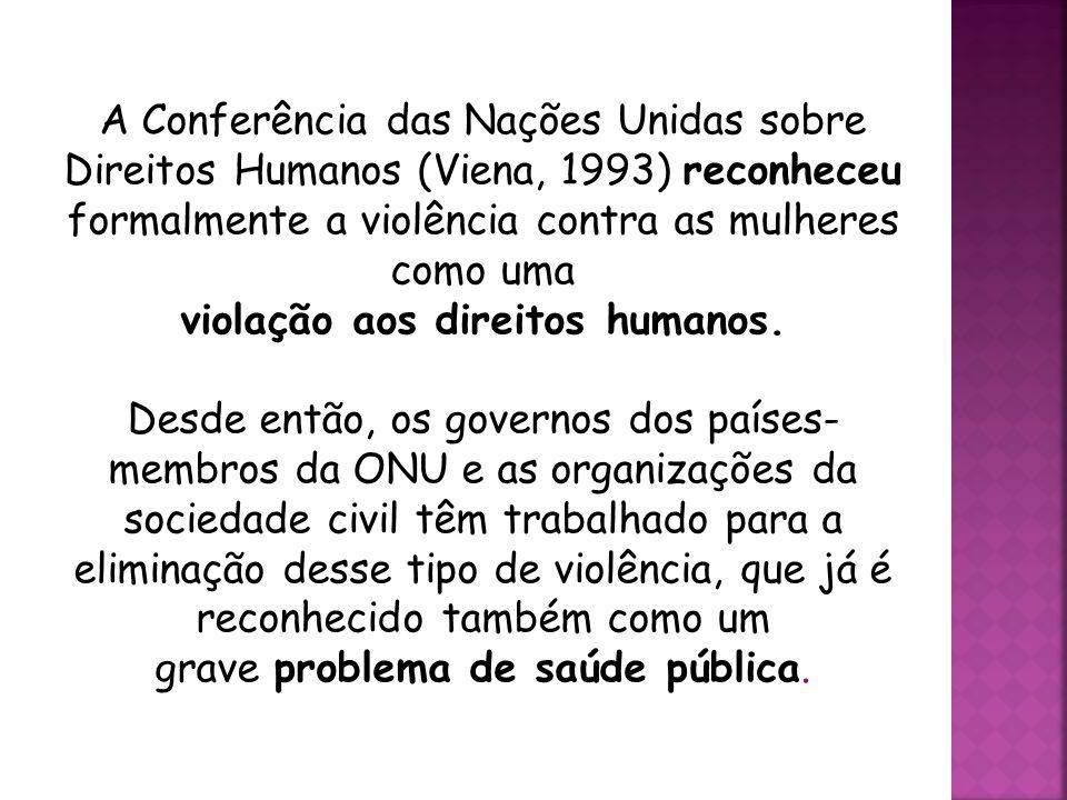 violação aos direitos humanos.