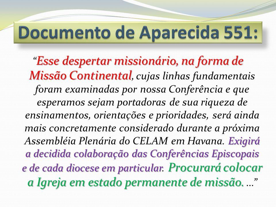 Documento de Aparecida 551: