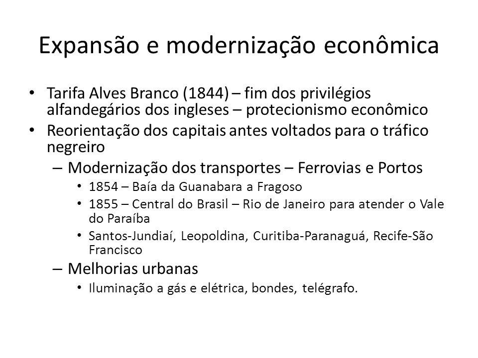 Expansão e modernização econômica
