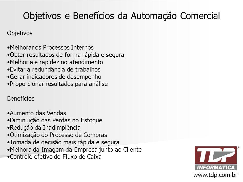 Objetivos e Benefícios da Automação Comercial