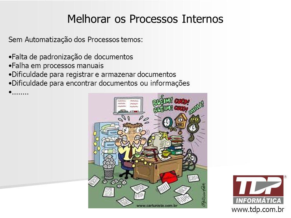 Melhorar os Processos Internos