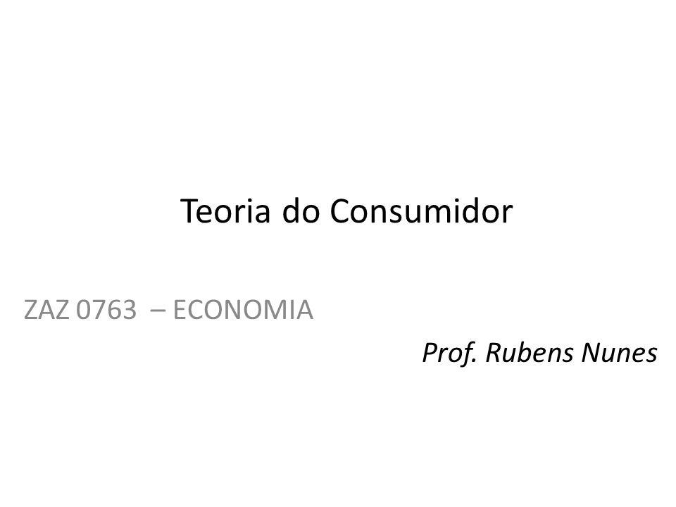 ZAZ 0763 – ECONOMIA Prof. Rubens Nunes