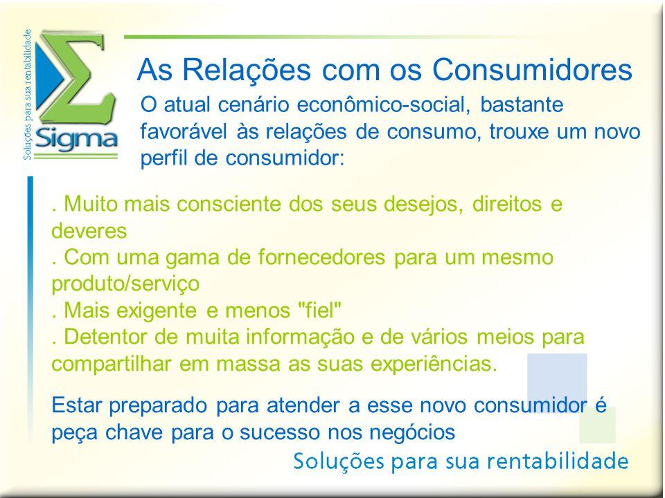 As Relações com os Consumidores