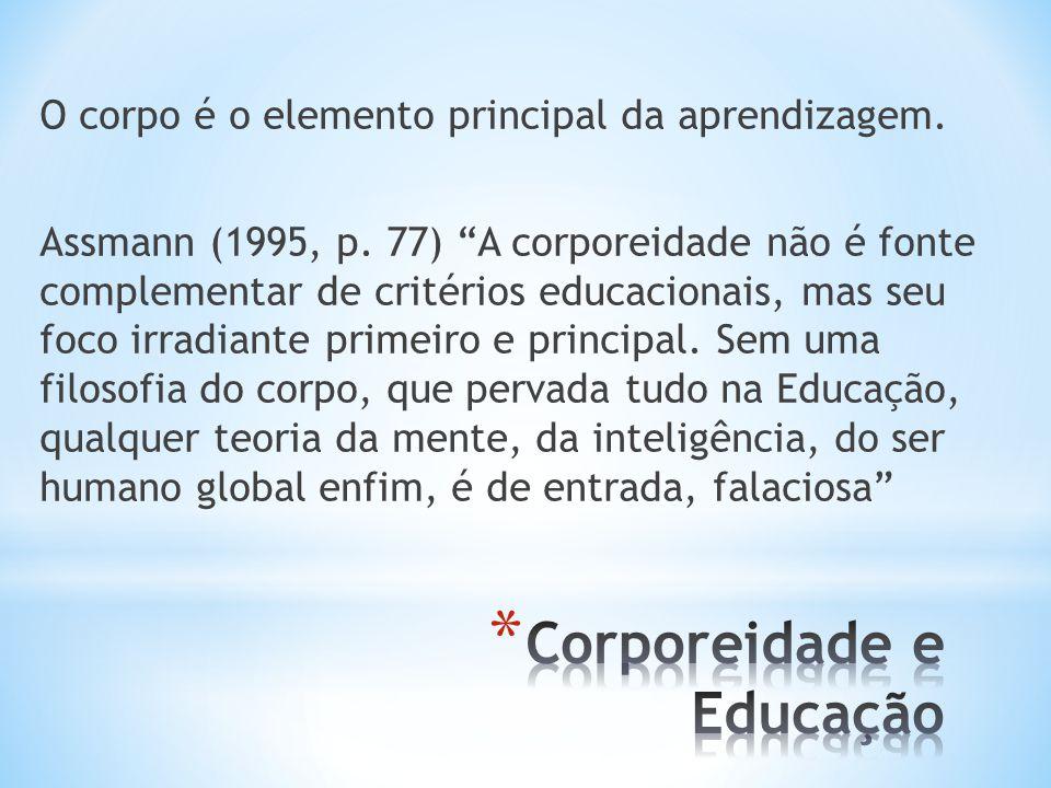 Corporeidade e Educação