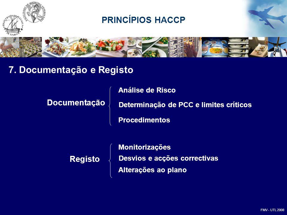 7. Documentação e Registo